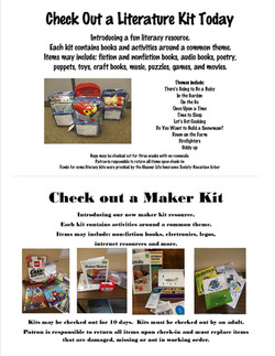Maker and Lit Kits