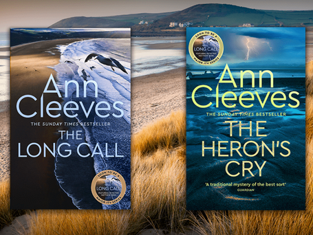 Ann Cleeves and Richard Osman: new series for you