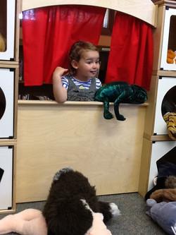 Children's Wing puppet show