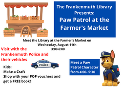 Paw Patrol at the Farmer's Market
