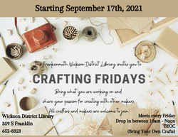 Friday Crafting 2021