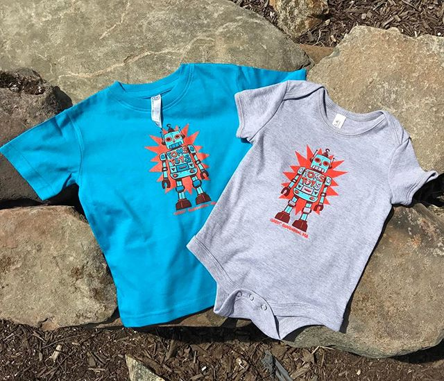 These adorable little onesies and toddler tees for _tomstoys show us that bigger isn't always better