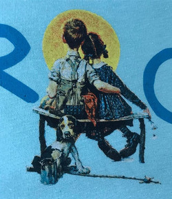 Close up of the last _norman_rockwell_museum design