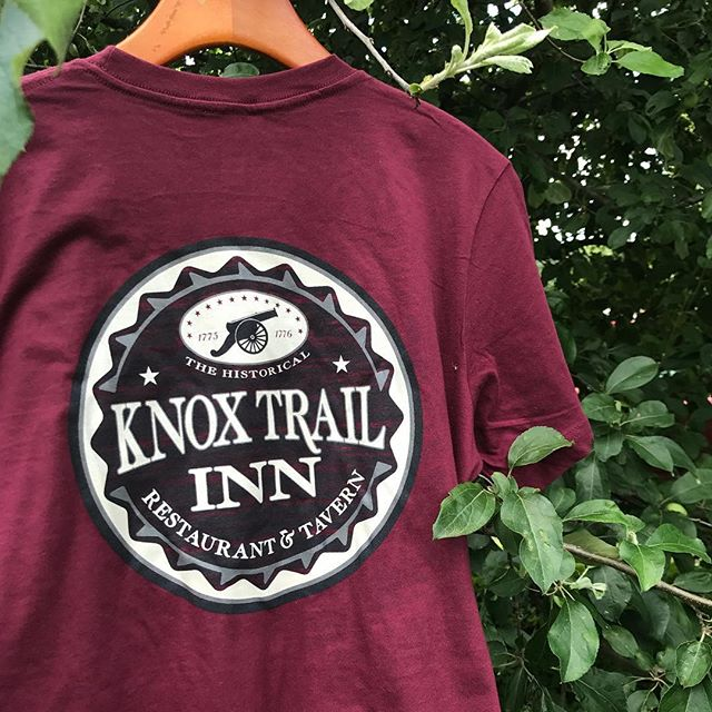 Staff tee for the Knox Trail Inn