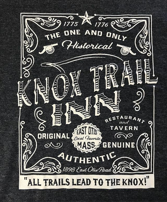 Gorgeous vintage design by _kjamanti for the Knox Trail Inn
