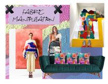 Fabric Manipulation Mood Board