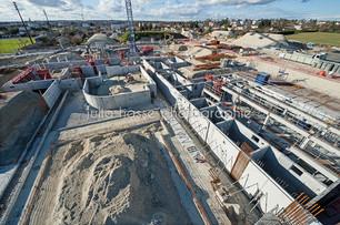 Grand Cognac: Reportages chantier du complexe aquatique