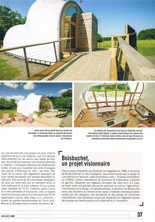Article dans Arcades en Poitou-Charentes n°9