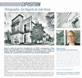 """Article dans le magazine """"Regards sur la Charente"""""""
