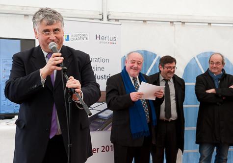 Inauguration Usine HERTUS