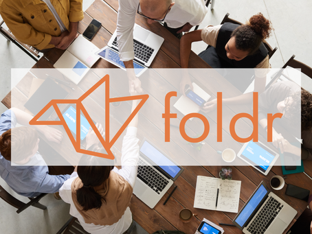Foldr Logo and Website Design by William Careri