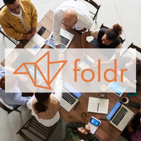 Foldr Logo and Website Design by William Careri