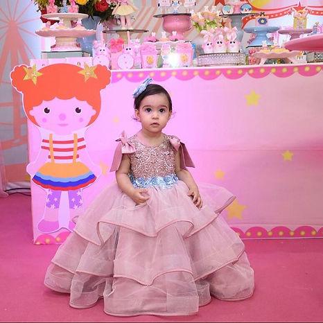 vestido infantil rosa/ Atelier Leo Xavier/ Estilista/ vestido aniversário/ mini dress