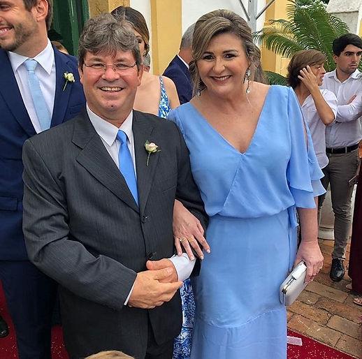 vestidos de festa/ madrinhas de casamento/ azul celeste/ atelier leo xavier