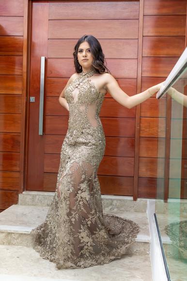 Vestido Bárbara, by Leo Xavier