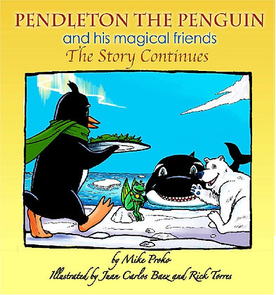 Pendleton the Penguin - The Story Continues #2