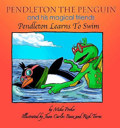 Pendleton Learns To Swim #3