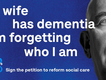 Dementia Awareness Week 17th-21st May & The Gift of Years Fundraising Appeal