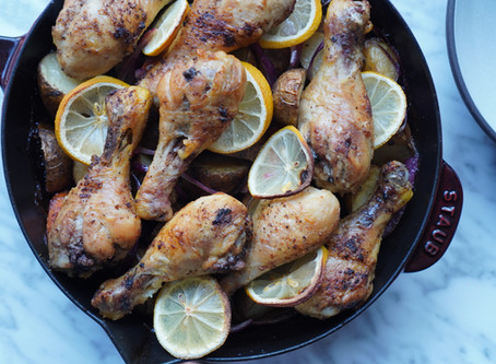 How to make Chicken Drumsticks in a Cast Iron Skillet