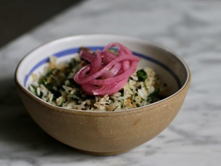 Parsley Rice Recipe