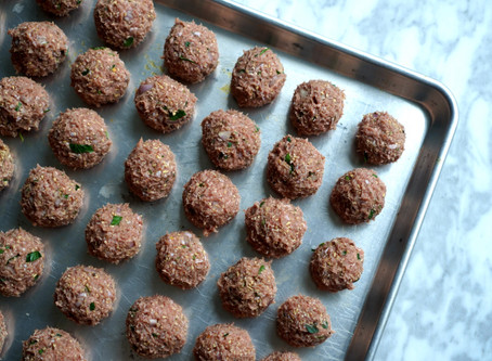 Turkey Meatballs Meal-Prep