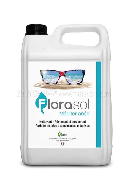 Détergent Désinfectant Surodorant FLORASOL Parfum MÉDITERRANÉE