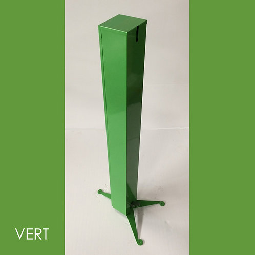 TOTEM 1 VERT Distributeur Gel Solution Hydro Alcoolique