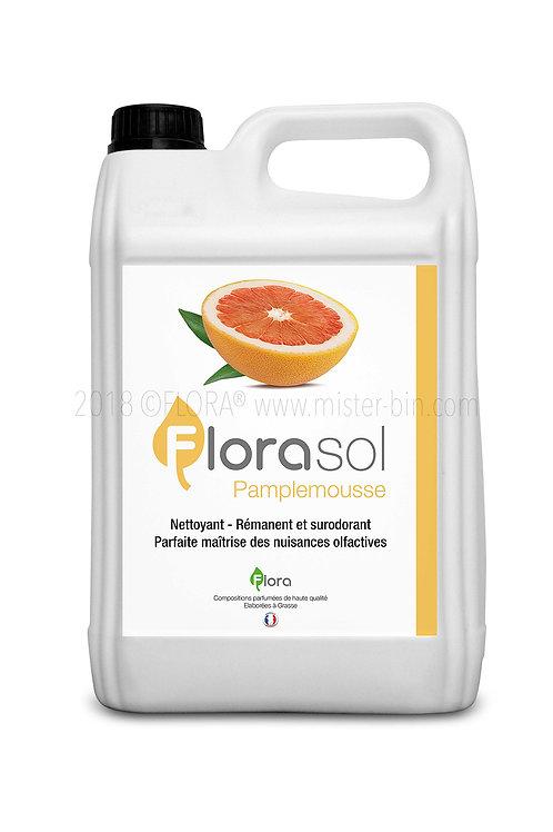 Détergent désinfectant surodorant FLORASOL Parfum PAMPLEMOUSSE