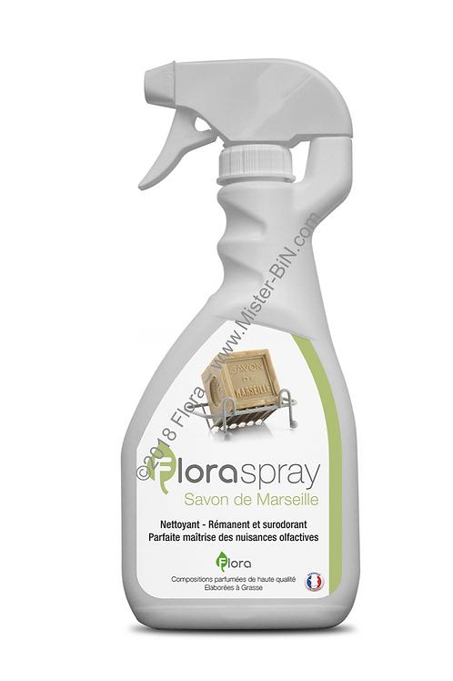 Surodorant FLORASPRAY Parfum SAVON DE MARSEILLE