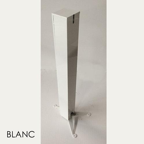 TOTEM 1 BLANC Distributeur Gel Solution Hydro Alcoolique