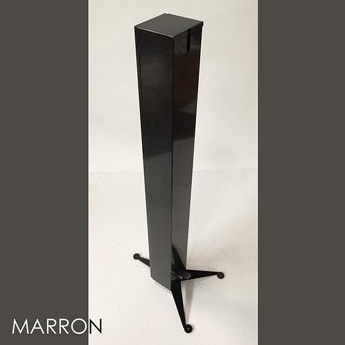 TOTEM 1 MARRON Distributeur Gel Solution Hydro Alcoolique
