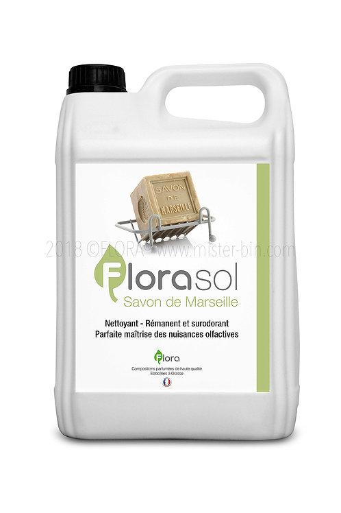 Détergent Désinfectant Surodorant FLORASOL SAVON DE MARSEILLE