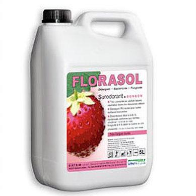 Détergent Désinfectant Surodorant FLORASOL Parfum BONBON