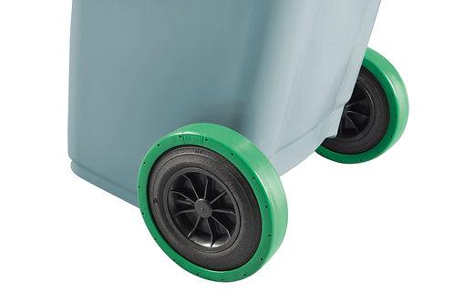 KITCOOL Jeu de 2 chaussettes pourroues de conteneur poubelle