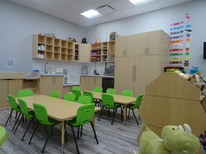 Sr. Toddler Room