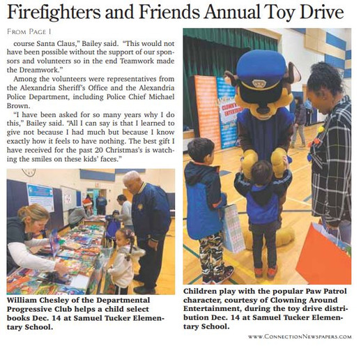 Firefighters and Friends Toy Distributio