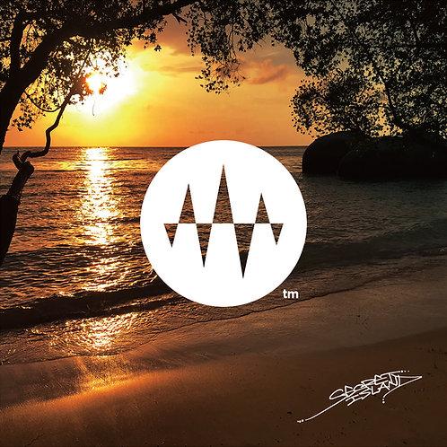Sunset Side 02.Mellow Beach Wave 2 メロービーチの波2「極上の癒やし」