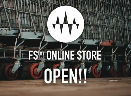 FS™ ONLINE STORE OPEN!! ダウンロード販売開始!!