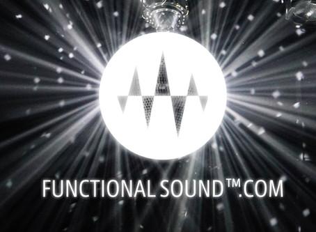 巷でウワサの「Functional Sound™」 の情報をいち早くお届けするサイト、誕生。
