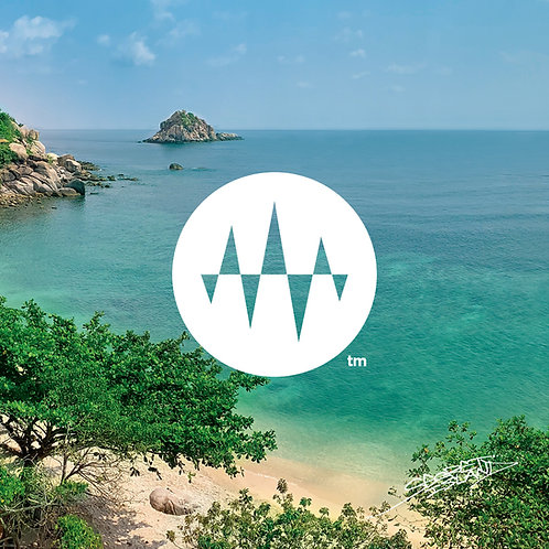 Sunrise Side 01.Emerald Beach Wave 1 エメラルドビーチの波1「幻想ヒーリング」