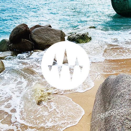 Sunrise Side 05.Double Rock Wave 1 岩間の波1「想像力の感度増強」