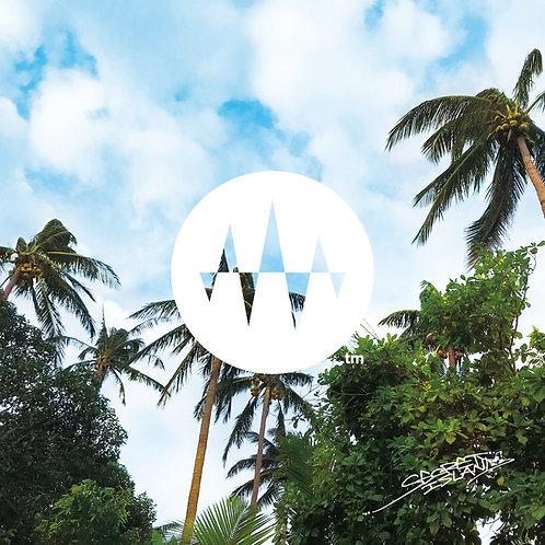 Sunrise Side 04.Palm Tree Wind ヤシの木と風「心の曇りが晴れる」