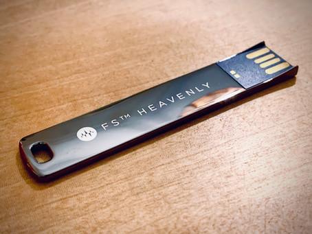 「FS™ HEAVENLY USB」美しく仕上がる