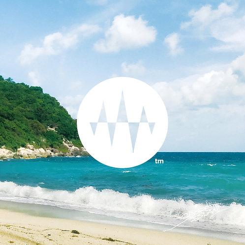 Sunrise Side 08.Blue Beach Wave ブルービーチの波「精神統一」