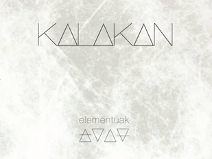 "Kalakan : Nouvel album ""Elementuak"""