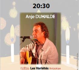 Anje Duhalde rend hommage à Manex Pagola - 07/03/2019 - Cinéma Théâtre les variétés, Hendaye
