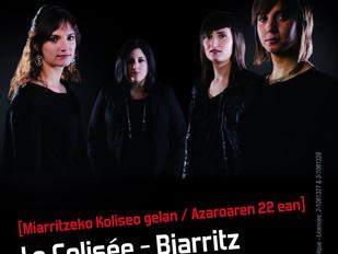 22 Nov : Izarrak au Colisée Biarritz