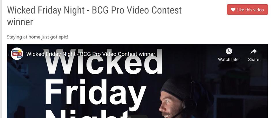 Winner @ British Comedy Guide Video Contest