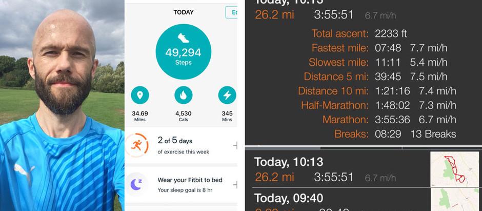 I ran my first Marathon