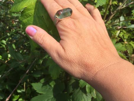 New Contemporary ring design.